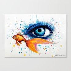 -Empty Oceans- Canvas Print