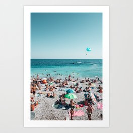 Ooh La La French Riviera Art Print
