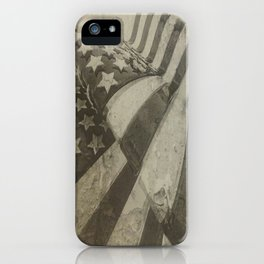 Old Glory (The United States Flag) iPhone Case