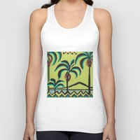 palm trees Tank Tops featuring Palm Trees by Abundance