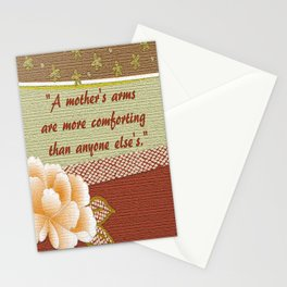 A Mother's Arms Stationery Cards