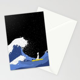Wave of trials. Stationery Cards
