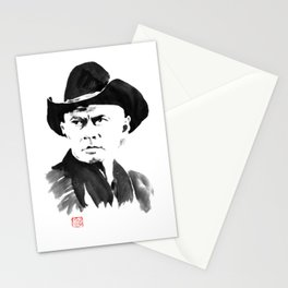 yul brynner Stationery Cards