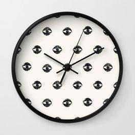 Eye Me Oh My Wall Clock
