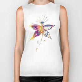 Butterfly spirit Biker Tank