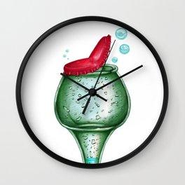 Bottle head Wall Clock