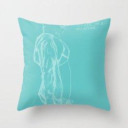 Spring Breakers/Vampire Weekend Throw Pillow