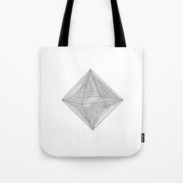 DMT OCTAHEDRON Tote Bag