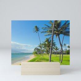 Waipuilani Beach Kihei Maui Hawaii Mini Art Print