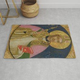 """Fra Angelico (Guido di Pietro) """"Saint Romulus"""" Rug"""