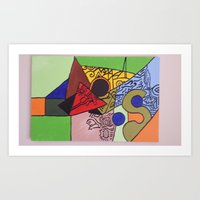 wild things Art Prints featuring Wild things by tmens