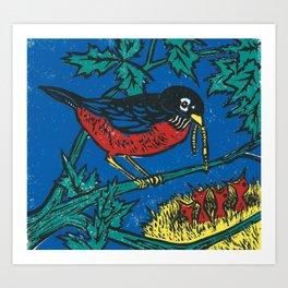 Robin's Nest Art Print