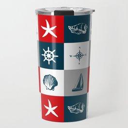 Nautical design 4 Travel Mug