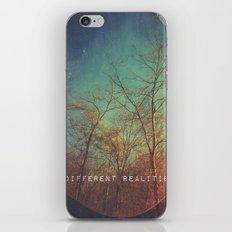 choosing between realities  iPhone & iPod Skin
