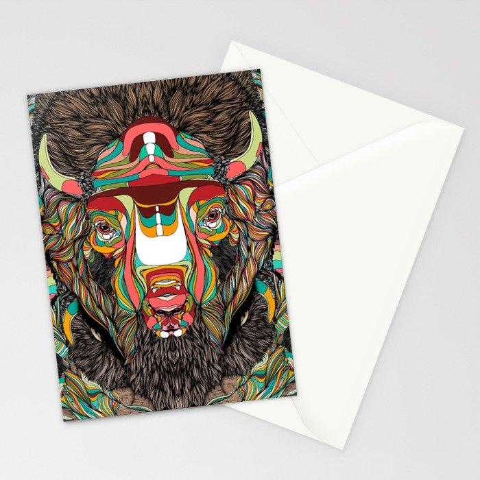 Bison (Feat. Bryan Gallardo) Stationery Cards