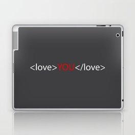 Love you 02 Laptop & iPad Skin