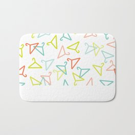 Coloured Hangers Bath Mat