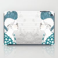 punk iPad Cases featuring Punk by katiwo
