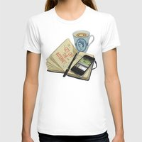 internet T-shirts featuring Internet Addict by Sally Renshaw