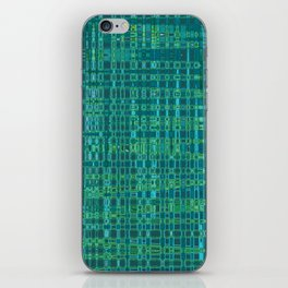 Hipster Plaid iPhone Skin