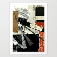 record Art Prints featuring Record by Alyssa Bascom