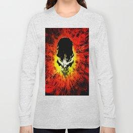fire skul Long Sleeve T-shirt