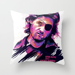 Kurt Russell: BAD ACTORS Throw Pillow