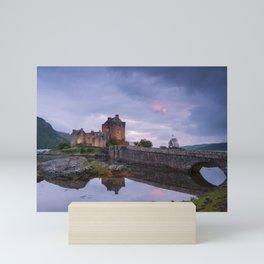 The Castle on the Lake Mini Art Print