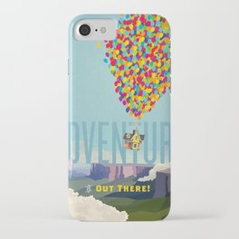 UP - Adventure Is Out There! iPhone Case