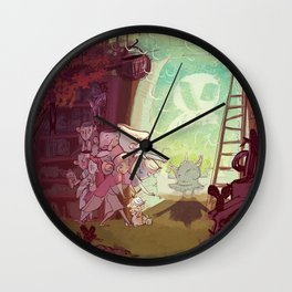 Bewitched! Wall Clock