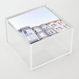 San Francisco Victorians Acrylic Box