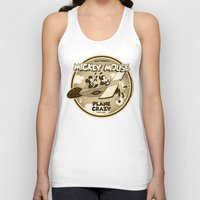plane Tank Tops featuring Plane Crazy by Szoki
