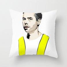 RIP MCA Throw Pillow