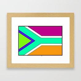 Newer South Africa Framed Art Print