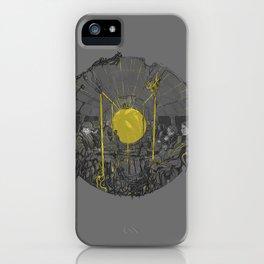 Sound on the underground iPhone Case