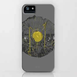 Sound on the underground iPhone Case