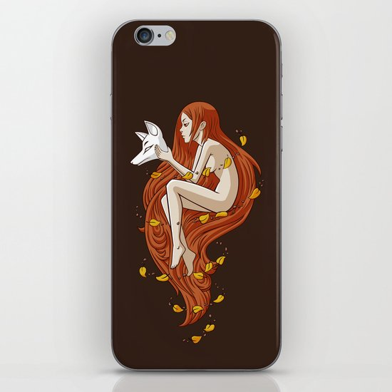 Kitsune iPhone & iPod Skin