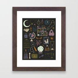 Haunted Attic Framed Art Print