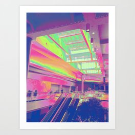 Spectrum Escalation Art Print