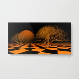 fancy horizon Metal Print
