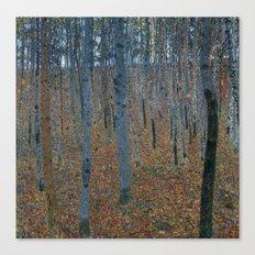 Gustav Klimt - Beech Grove I Canvas Print