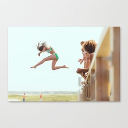 Might as Well Jump Canvas Print