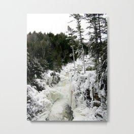 Winter land Metal Print