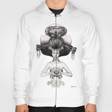 CANCER - Black and White Version Hoody