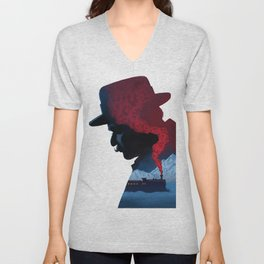 Murder on the Orient Express Unisex V-Neck