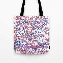 Capillary Reaction  Tote Bag