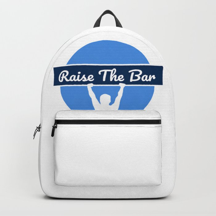 2ca8f9e9b7a Raise The Bar Ventures Merchandise Backpack by milbornart
