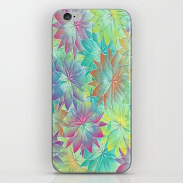 Flower Sea iPhone Skin