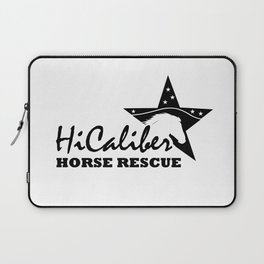 High Caliber Horse Rescue Laptop Sleeve