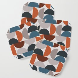 Mid Century Modern Geometric 25 Coaster